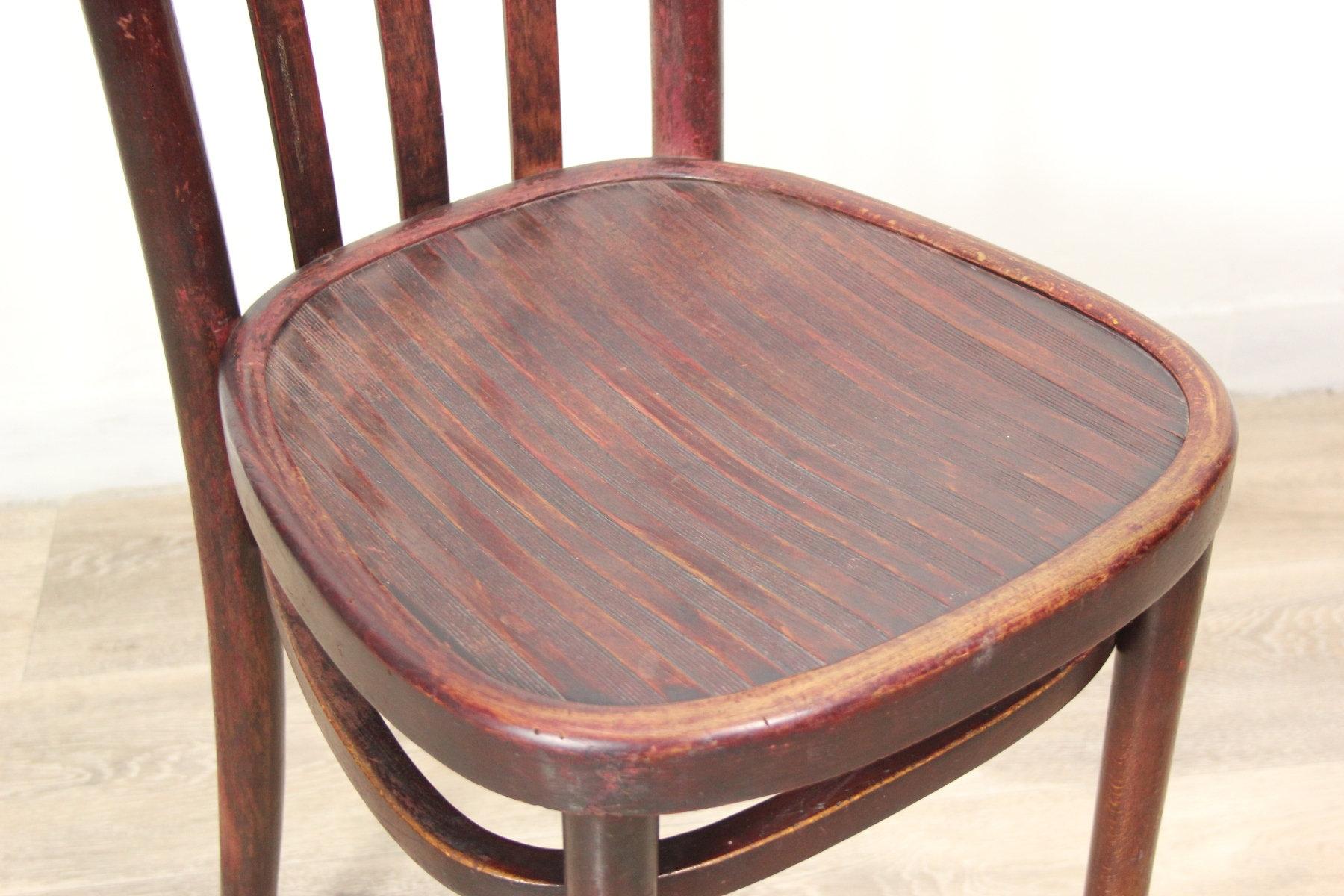 Dettagli su Sedia Thonet vintage anni 50 seduta in legno antica antiche per ufficio