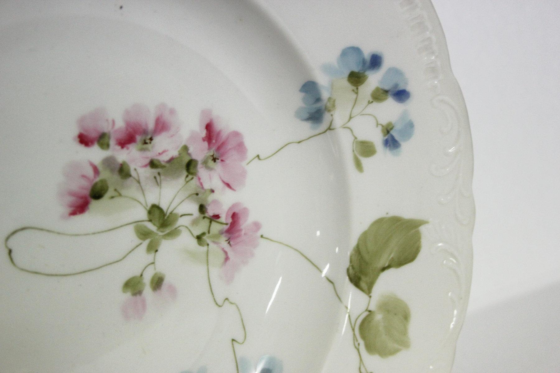 Richard Ginori coppia piatti antichi porcellana posto ...